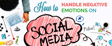 How to Handle Negative Emotions on Social Media?