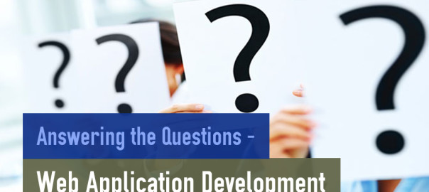 Answering the Questions – Web Application Development